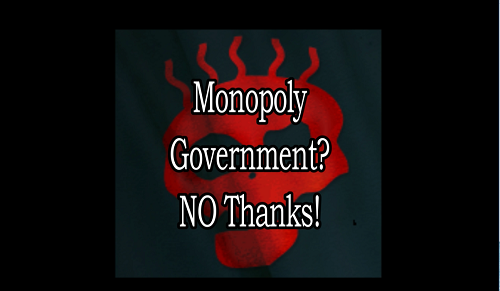 monopoly govt small