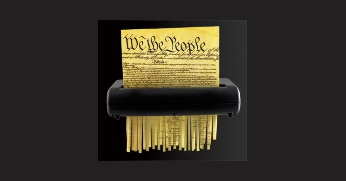 133 Words or Less: You're Shredding the Constitution