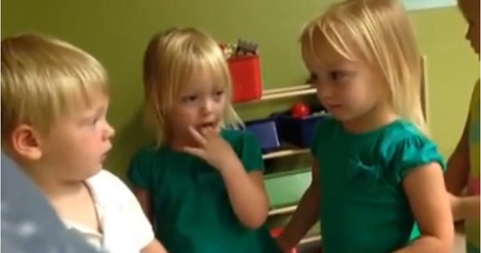 Viral Toddler Argument Video Perfectly Illustrates American Politics
