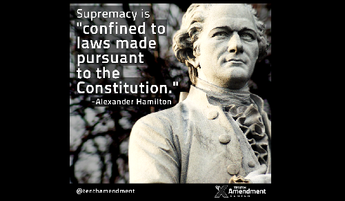 Thoughts from Maharrey Head #55: Is the Federal Government Supreme?