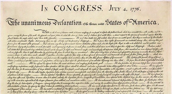 Thoughts from Maharrey Head #52: The Declaration of Independence
